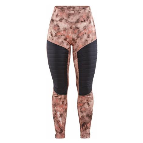 Dámské kalhoty CRAFT SubZ Padded Tights růžová