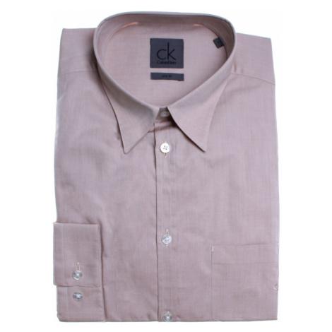 Calvin Klein pánská světle hnědá košile