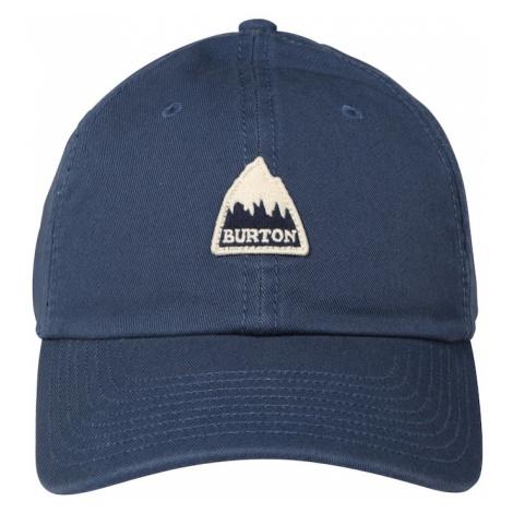 BURTON Sportovní kšiltovka tmavě modrá / černá / světle béžová