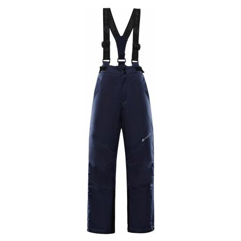 Dětské lyžařské kalhoty Alpine Pro ANIKO 4 - tmavě modrá