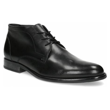 Pánská kožená kotníčková obuv Baťa