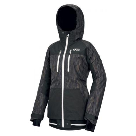 Picture LANDER PRINT černá - Dámská zimní bunda