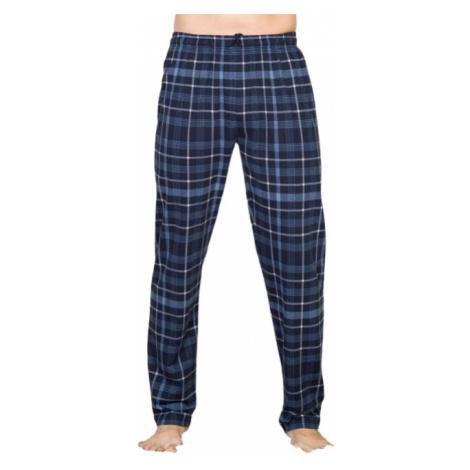 Pánské pyžamové kalhoty Vienetta Secret Filip | modrá