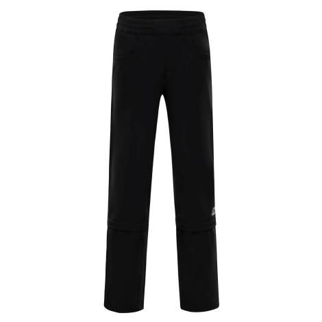 Dětské kalhoty Alpine Pro PANTALEO 2 - černá