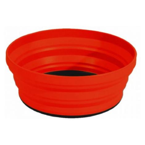 Sea to Summit X-Bowl miska skládací 650ml, červená