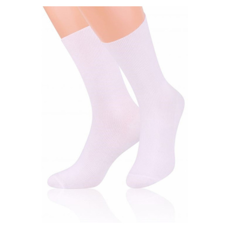Pánské ponožky 018 white Steven