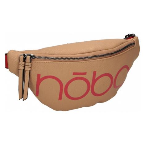 Taška na pas ledvinka s typografickým motivem, Nobo