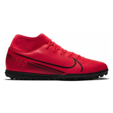 Nike MERCURIAL SUPERFLY 7 CLUB TF červená - Pánské turfy