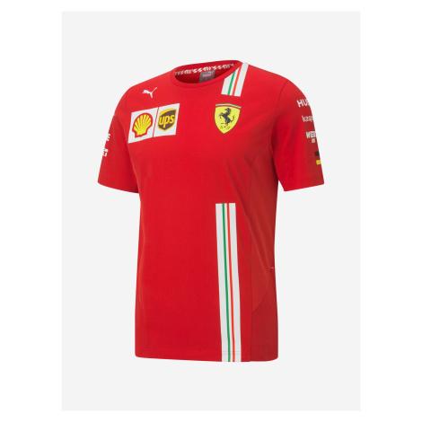Ferrari SF Vettel Replica Triko Puma Červená