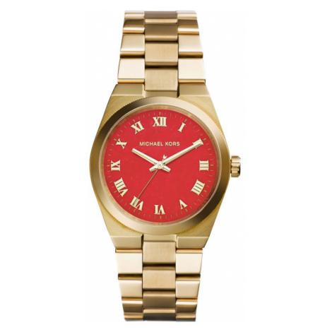 Michael Kors - Dámské pozlacené hodinky Runway