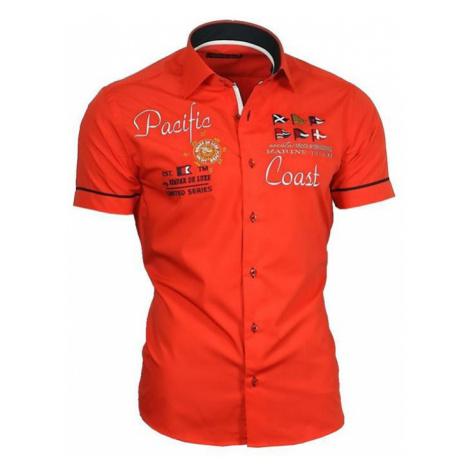 BINDER DE LUXE košile pánská 82003 krátký rukáv