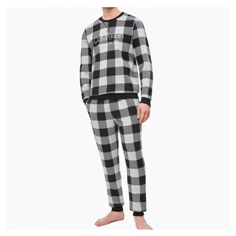 Černo-šedé kalhoty Lounge Joggers Modern Cotton Calvin Klein