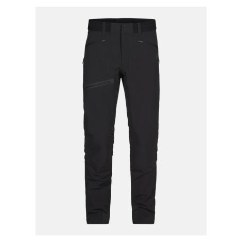Kalhoty Peak Performance M Light Softshell V Pants - Černá