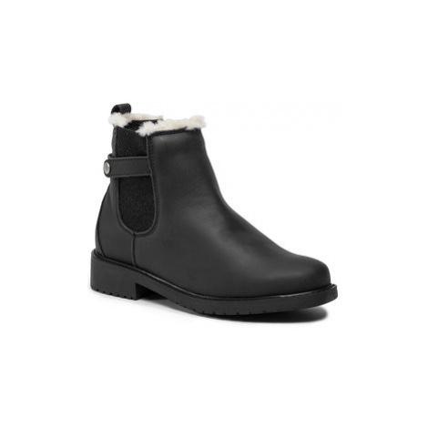EMU Australia Kotníková obuv s elastickým prvkem Elliston T12083 Černá