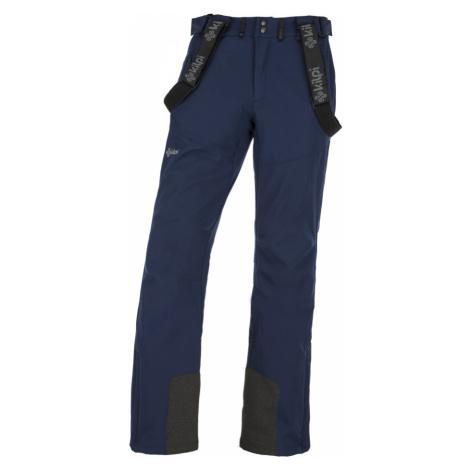 KILPI Pánské softshellové kalhoty RHEA-M JM0014KIDBL Tmavě modrá