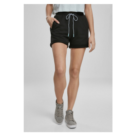 Urban Classics Ladies Beach Terry Shorts black