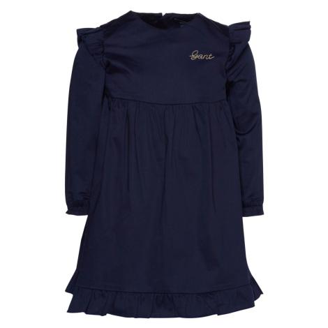 ŠATY GANT D2. SCRIPT HOLIDAY DRESS