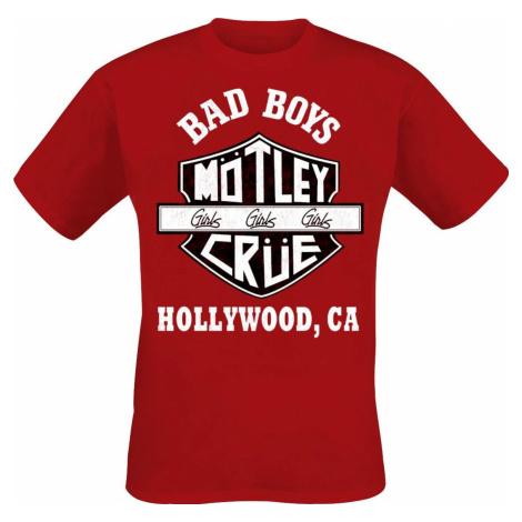 Mötley Crüe Bad Boys Tričko červená