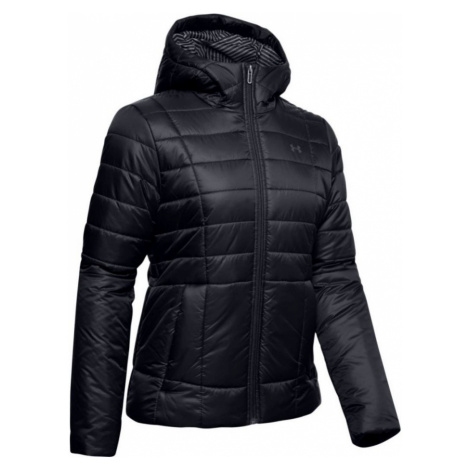 Under Armour Armour Insulated Hooded Jkt Dámská zimní bunda 1342813-001 Black