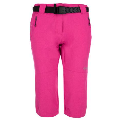 Dámské 3/4 kalhoty KILPI DALARNA-W růžová