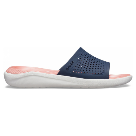 Crocs LiteRide Slide Navy/Melon