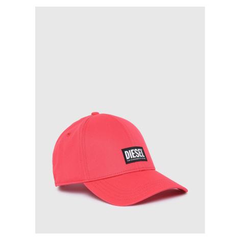 Kšiltovka Diesel Corry Hat - Růžová
