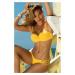 Horní díl dámských plavek Sunny žlutá