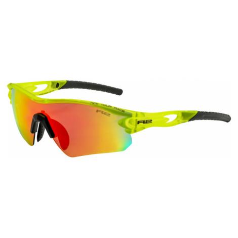 R2 PROOF Sportovní sluneční brýle AT095C žlutá M