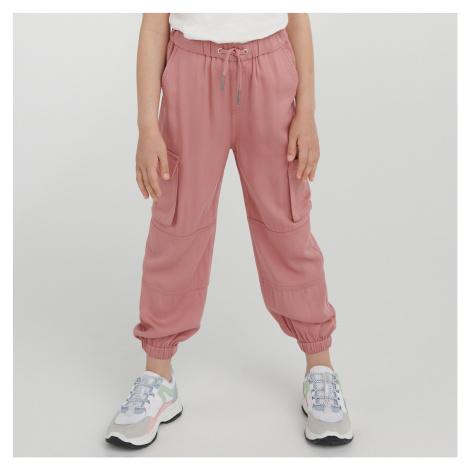 Reserved - Cargo kalhoty - Růžová
