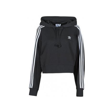 Adidas SHORT HOODIE Černá