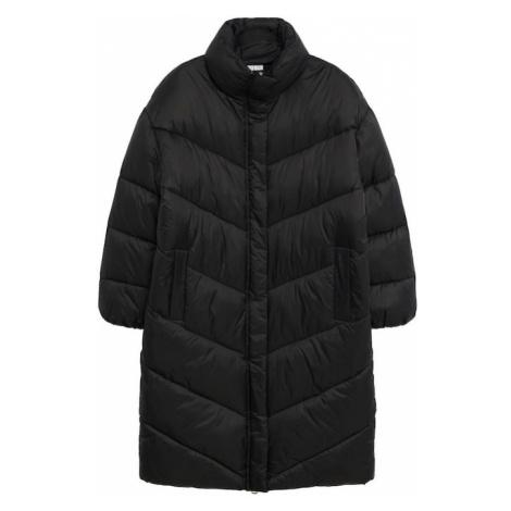 MANGO Zimní kabát 'Kellogs' černá
