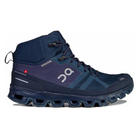 Trekové boty On Running CLOUDROCK WATERPROOF MAN tmavomodrá