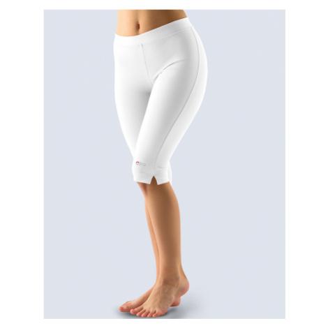 GINA Legíny CAPRI jednobarevné 95001-MxB bílá