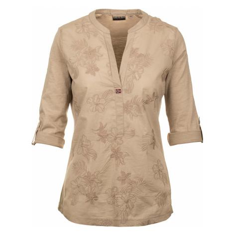 Napapijri dámská polo košile béžová