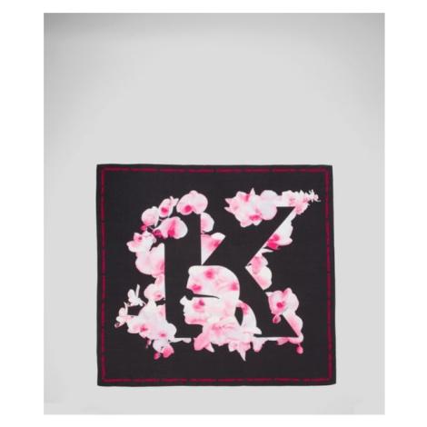 Šátek Karl Lagerfeld K/Orchid Silky Scarf