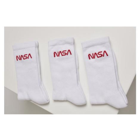 NASA Worm Logo Socks 3-Pack Urban Classics
