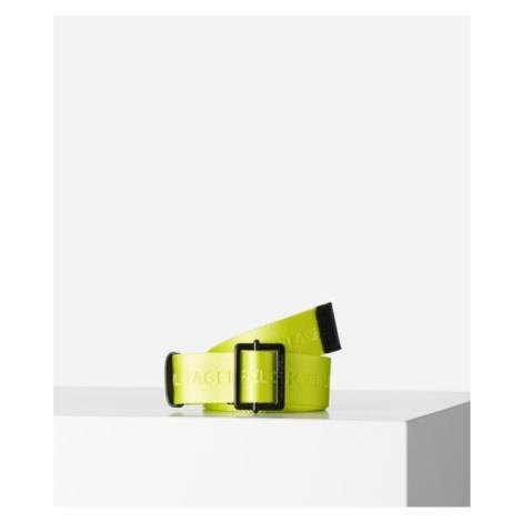 Opasek Karl Lagerfeld K/Karl Logo Webbing Belt