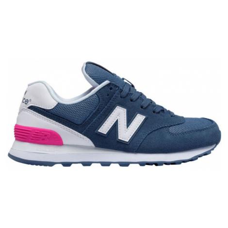 New Balance new balance wl574cnb wms - modrá