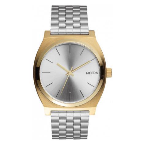 Nixon Time Teller Gold Silver SIlver
