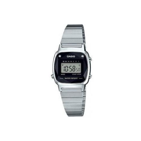 Casio LA 670WEAD-1EF stříbrné / černé