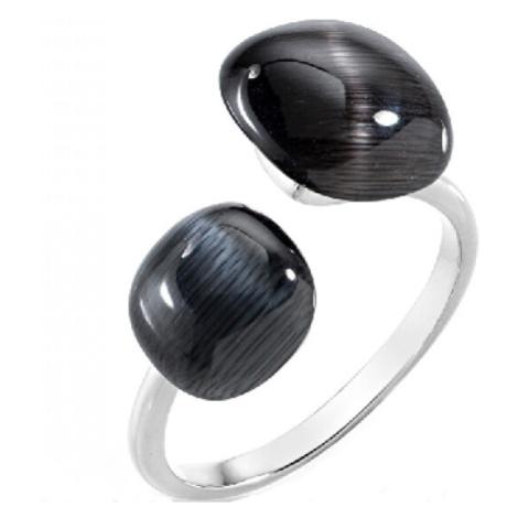Morellato Stylový prsten zdobený kočičím okem Gemma SAKK33