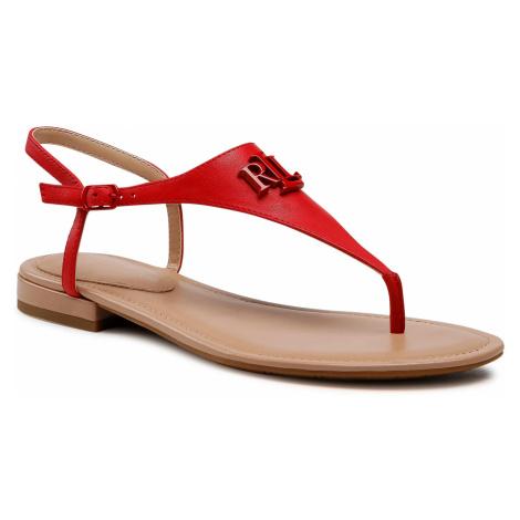 Sandály LAUREN RALPH LAUREN - Ellington Sn Csl 802824709001 Candy Red