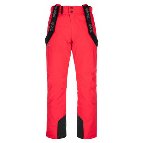 KILPI Pánské lyžařské kalhoty - větší velikosti MIMAS-M NMX029KIRED Červená