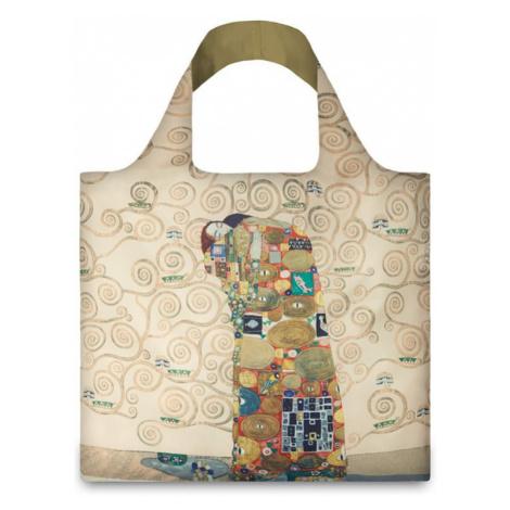 Béžová taška Loqi Gustav Klimt