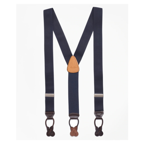 Kšandy Brooks Brothers Solid Suspenders