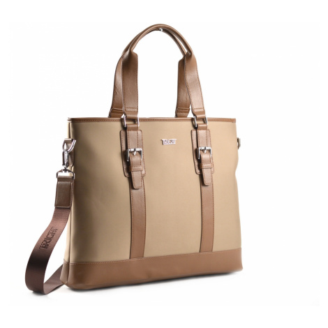 """BRIGHT Dámská taška na notebook 13"""" Business Béžová, 42 x 10 x 33 (BR18-BTS208153-05TK)"""