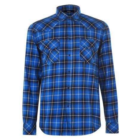 Diesel Check East Long Shirt