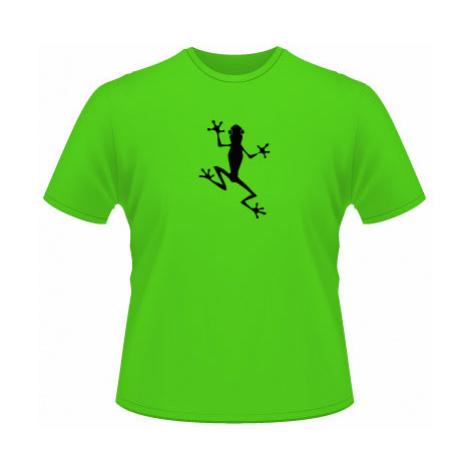 Pánské tričko na tělo Žába