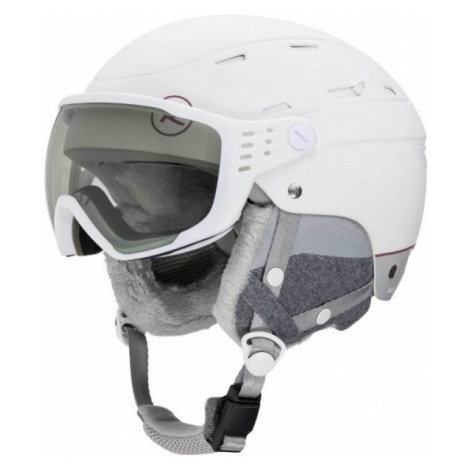 Rossignol ALLSPEED VIS IMPACTS W bílá - Dámská lyžařská helma