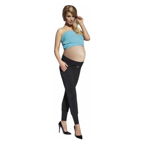 BasBleu Těhotenské legíny Catrine 200 DEN černé Bas Bleu